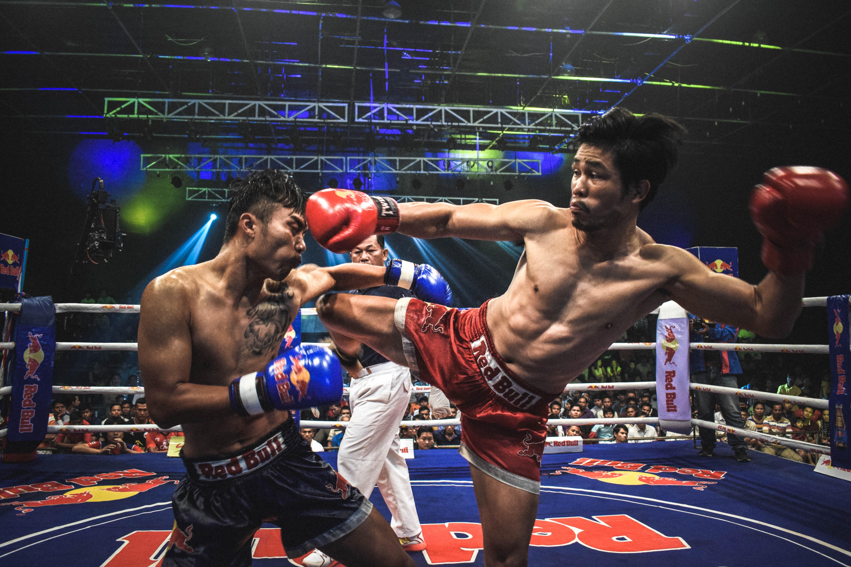 Kick Boxing Ringhorns Unisex Nitro Boxing Gloves Muay Thai